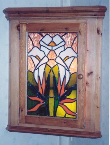 Corner Cupboard Inspired by the views and flowers of Madeira
