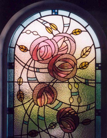 Charles rennie mackintosh style window for Window design art