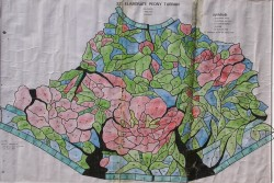 Colouring  copy of the pattern